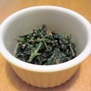 春の山菜★うどの葉香りごま和え