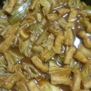 めんつゆで簡単野菜たっぷりカレー鍋★