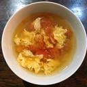 業ス姜葱醤入り トマトコンソメスープ