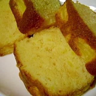 缶詰めパインでパイナップルケーキ HMで簡単にね♪