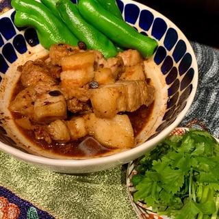 レンジで☆豚バラ(スペアリブ)の豆豉蒸し