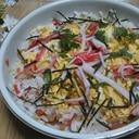 カニかまと大葉の簡単ちらし寿司☆