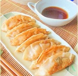 ★黄ニラと大葉の餃子♪★