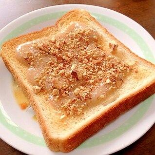 鍋・砂糖不使用!簡単すぎるバナナジャムトースト♥