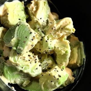 アボカドの簡単マヨ*サラダ