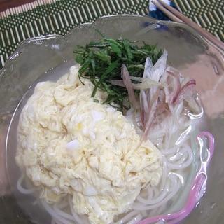 冷し★かきたま素麺