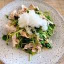 野菜とお肉たっぷり!豚肉と豆苗のしゃぶポン酢