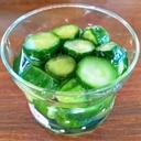 胡瓜のラッキョウ酢漬け