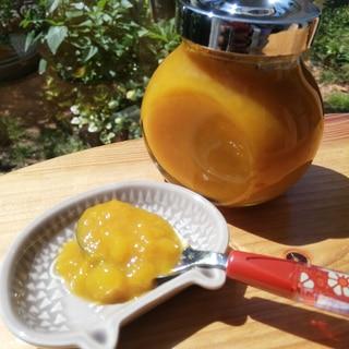 冷凍マンゴーを使って マンゴージャム♪