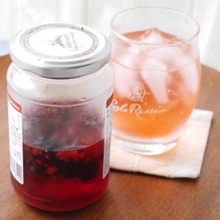 簡単&ヘルシー★冷凍ミックスベリーの果実酢