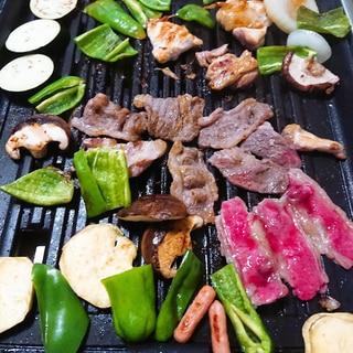 野菜室を片付ける焼き肉