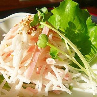 千切り大根の簡単おつまみサラダ♪