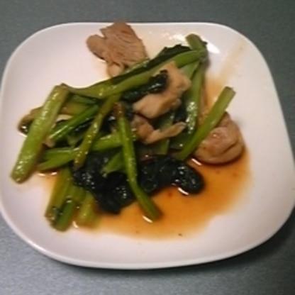お弁当にしました!鶏肉を小さめに切りました☆おいしいです!ありがとうございました(^O^)