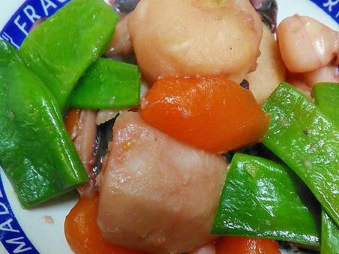 里芋といかげその簡単味付け煮物