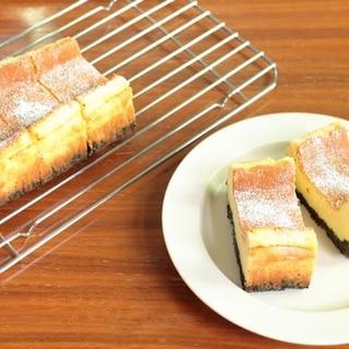 基本のベイクドチーズケーキ*パウンド型
