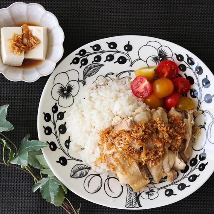炊飯器で 簡単カオマンガイ(海南鶏飯)