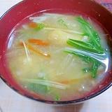 大根・人参・油揚げの味噌汁