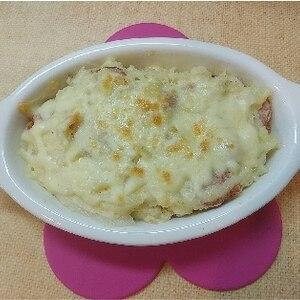 ポテトマヨのチーズ焼き