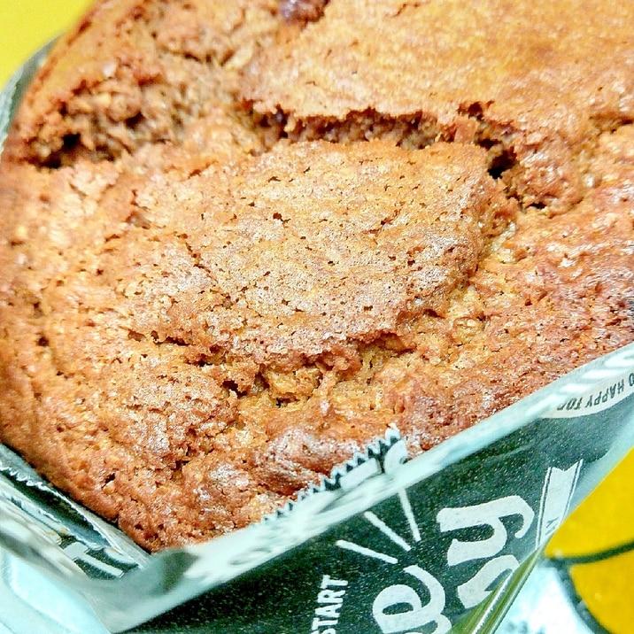 HMで簡単♪砂糖なしのバナナチョコレートケーキ♪
