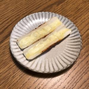 ちくわのマヨチーズ焼き