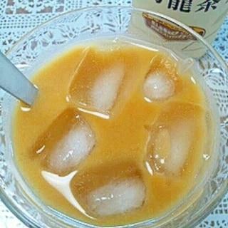 アイス☆マンゴーきなこ烏龍茶♪