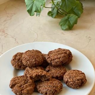 小麦ふすまの糖質制限クッキー