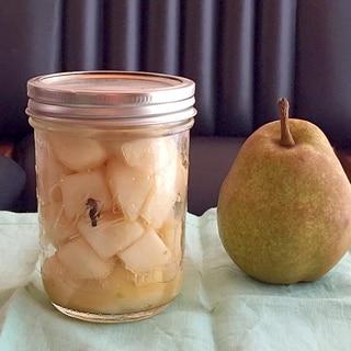 加熱しない☆洋梨のフレッシュなマリネ