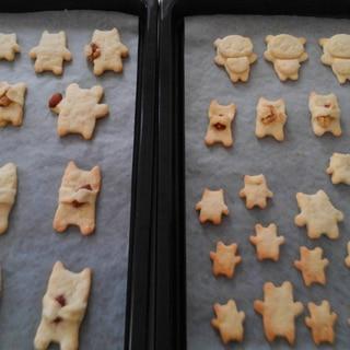 小麦粉・砂糖・マーガリンだけ!簡単サクサククッキー