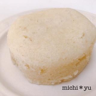 レンジで簡単♪ 豆腐入りヘルシー米粉蒸しパン