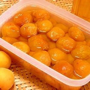 炊飯器で5時間☆完熟梅の甘露煮とシロップ