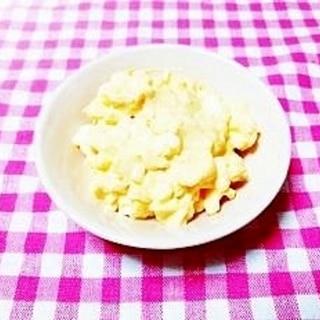 卵2個で♪辛子風味ゆで卵ペースト