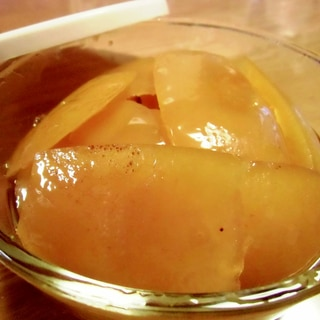 グレープフルーツの皮のシロップ煮