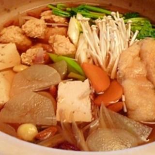 体ぽかぽか☆鶏団子の薬膳鍋