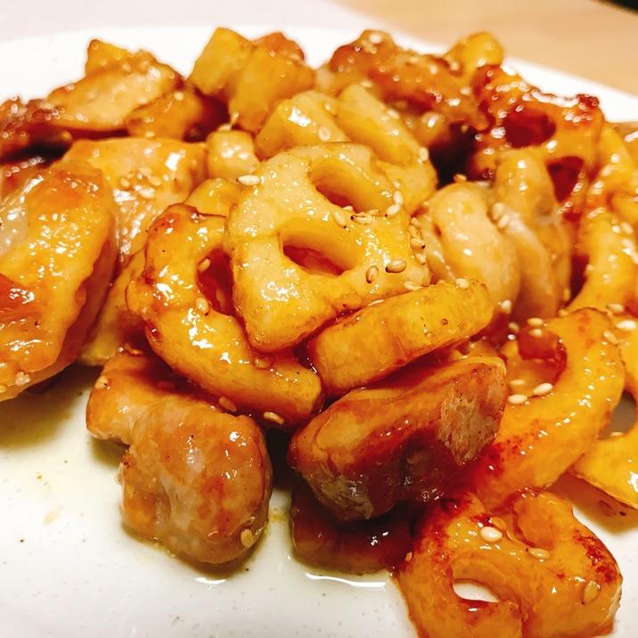 レンコン 鶏肉