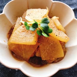 レンジでこくうま☆ツナと大根の煮物