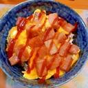 ママが作るスパム丼♪スパムおにぎり風