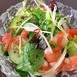 エビのタイ風サラダ☆美味しいエスニック