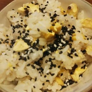 冷凍むき栗を使った栗ご飯