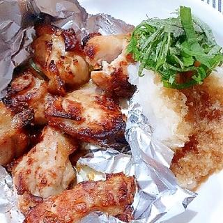 若鶏もも肉の甘酢ソテー(ノンフライヤー)