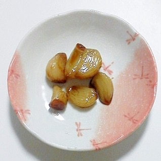 ニンニクの甘辛煮