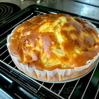 HMで作る簡単りんごケーキ