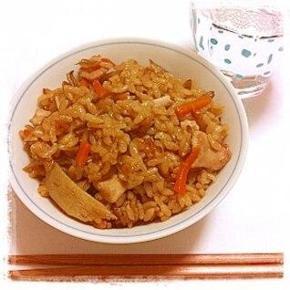 鶏の炊き込みご飯 ★鶏飯★