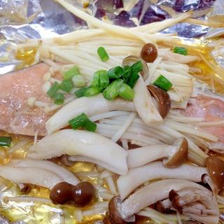 バターしょうゆで☆簡単鮭のホイル焼き