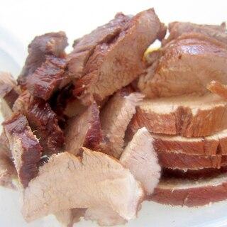 豚の生姜蜂蜜紅茶煮