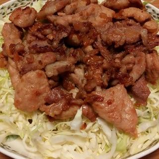 漬け込みで簡単ウマい!豚の生姜焼き