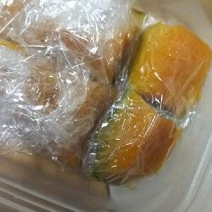 お弁当用 かぼちゃの煮物 ☆ 冷凍保存で