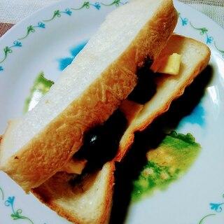 折りたたみ式♪冷たいデザートサンドイッチ