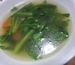 簡単!時短!健康!春菊の中華スープ