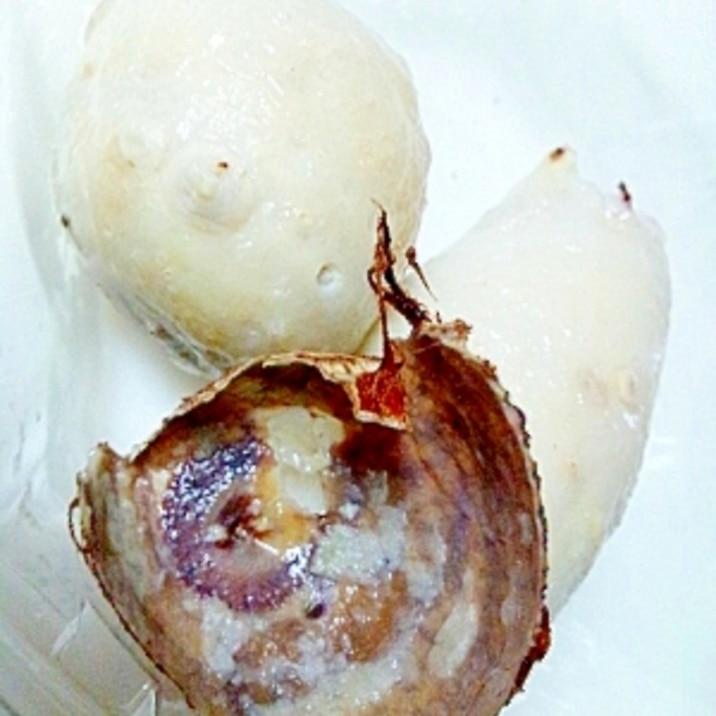 超簡単、里芋(小芋)の皮むき&下処理