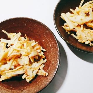 マコモダケと竹輪☆卵とじ